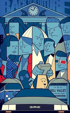 GROUP SHOTS FROM CULT MOVIES GO MINIMAL    Illustrations by Ale Giorgini