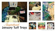 Lots of inspiration tuff trays perfect for young children who enjoy hands on learning through play. Tuff Tray Ideas Toddlers, Indoor Activities For Toddlers, Nursery Activities, Preschool Learning Activities, Preschool Activities, Diy And Crafts, Crafts For Kids, Sand And Water Table, Backyard For Kids