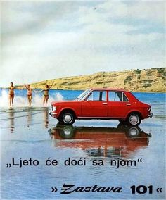 Najava - Zastava Summer Car Show - Autoslavia Vintage Ads, Vintage Posters, Bus Engine, Earth And Solar System, Europe Car, Fiat 128, Car Advertising, Advertising Design, Springfield Armory