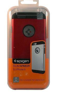 iPhone 6 Case Spigen [ AIR CUSHION ] Slim Armor Slim Case Electric Red SGP10956 #Spigen