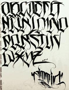 Tattoo Lettering Design, Graffiti Lettering Fonts, Graffiti Alphabet, Ambigram Tattoo, Tattoo Script, Tattoo Fonts, Fonte Alphabet, Arte Lowrider, Chicano Drawings
