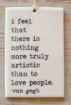 me and my blog: love people always