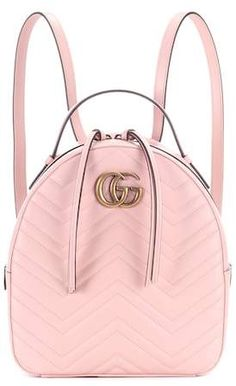 Gucci GG Marmont matelassé leather backpack Fashion Backpack 1a1efaf380549