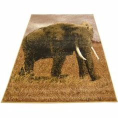 Buy Elephant Scene Rug - 80 x 150cm at Argos.co.uk - Your Online Shop for Rugs and mats.