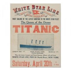 Titanic officers account of the disaster