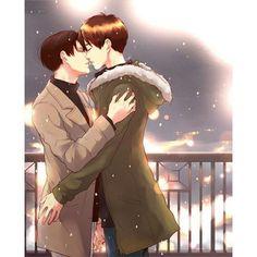 [ Credit to the Artist-sinba ] #eren #erenjaeger #jaegereren #jaeger #levi #leviackerman #ackermanlevi #ackerman #attackontitan #shingekinokyojin #進撃の巨人 #gay #yaoi #bl #boyslove #boyxboy #cute #love #couple #erenxlevi #levixeren #ereri #riren #rivaere #anime #otaku #manga #otp #like #follow