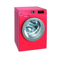 Check out this red washing machine from Gorenje!