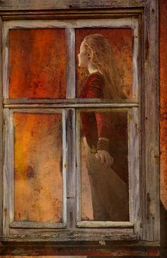 'Sunset Walk' von Marie Luise Strohmenger bei artflakes.com als Poster oder Kunstdruck $19.41