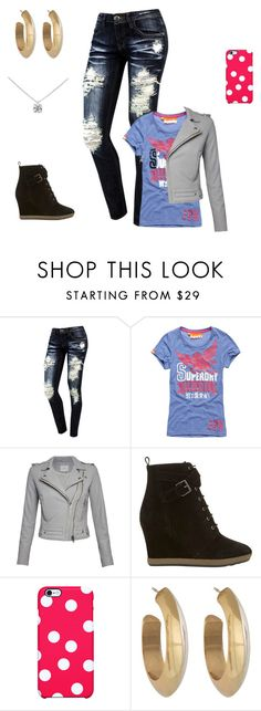 """""""Sans titre #635"""" by harrystylesandliampayne ❤ liked on Polyvore featuring Superdry, IRO, Mint Velvet, Uncommon, House of Harlow 1960 and Tiffany & Co."""