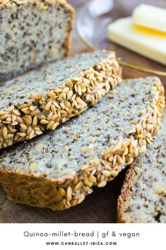 Healthy gluten free bread. #homemade #glutenfree #easy #vegan #noyeast