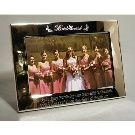 Personalised 6x4 Glitter Photo Frame Bridesmaid, Maid of Honour Wedding Gift | eBay