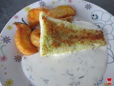 Zubáč s kôprovou omáčkou - Jedlá a recepty pre deti - Receptypredeti.eu