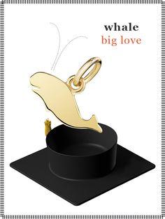 Dodo charm: whale - big love