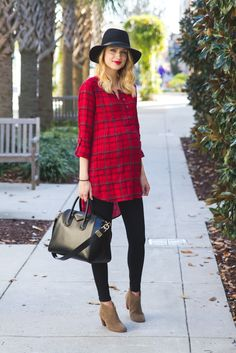 Image Via: Little Blonde Book in the Halfpenny Plaid Tunic