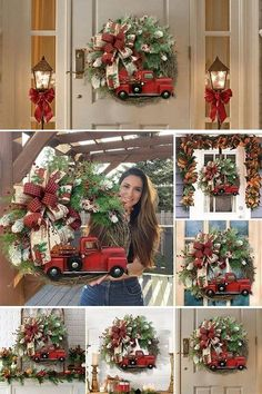 This is a perfect wreath on your front door for christmas or hang it anywhere inside your house ~ Christmas Wreaths, Christmas Tree, Holiday Decor, Home Decor, Teal Christmas Tree, Decoration Home, Room Decor, Xmas Trees, Christmas Trees