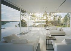 Villa Överby / John Robert Nilsson Arkitektkontor ...absolutely stunning home & view of the lake... pure & simplistic