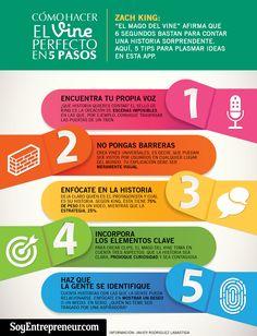 Cómo hacer un Vine perfecto en 5 pasos #infografia