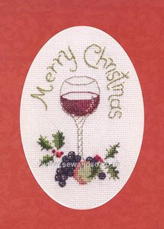 Buy Christmas Cheer Card Cross Stitch Kit Online at www.sewandso.co.uk