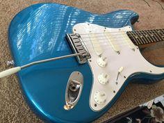 1987 Lake Placid Blue Strat Plus Fender Stratocaster, Fender Guitars, Lake Placid Blue, Electric Guitars, Aqua Blue, Musical Instruments, Bass, Musicals, Japan