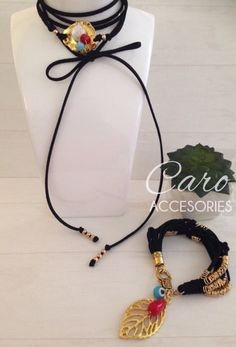 Choker necklace available @ http//caroaccesories.patternbyetsy.com/listing/