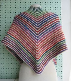 Frolic Shawl By Haley Waxberg - Free Knitted Pattern With Website Registration - See http://www.ravelry.com/patterns/library/frolic-shawl For Additional Projects - (knitomatic.myshopify)