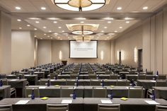 Our Grand Ballroom is ideal for large meetings and can be divided into four sections as needed. www.wyndhamgrandchicagoriverfront.com