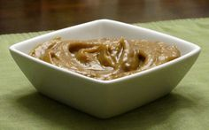 A real treat: Creamy Caramel Sauce. This is a dessert we can really get behind