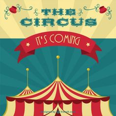 Circus tent vector art Vector | Free Download