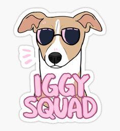 IGGY SQUAD (fawn) Sticker