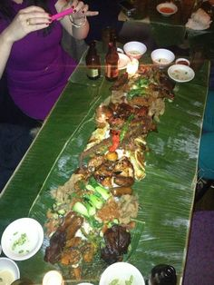 Kamayan Night Wednesdays & Thursdays at Jeepney in East Village: A No Utensil, $40 Filipino Feast for the Ages