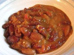 Nigerian Red Kidney Bean Stew with a Peanut Sauce   Lisa's Kitchen   Vegetarian Recipes   Cooking Hints   Food & Nutrition Articles