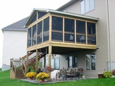 Easy Screened In Porch Ideas And Photos Porch Designs
