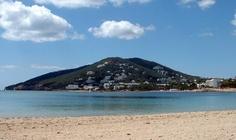 A view of Siesta, Santa Eulalia, Ibiza - many happy times here <3