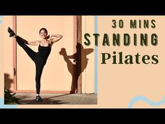 Cardio Pilates, Pilates Workout Videos, Body Workouts, Total Body Toning, Hiit Program, I Work Out, Weight Training, Stay Fit, Stretches
