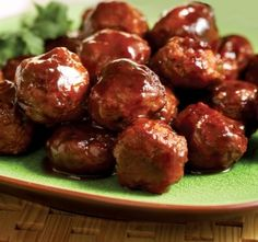 Cranberry Cocktail Meatballs- I think I should make this as an appitizer for Thanksgiving