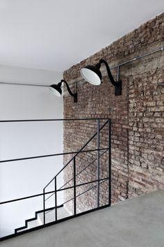 Brick Wall + Concrete floor