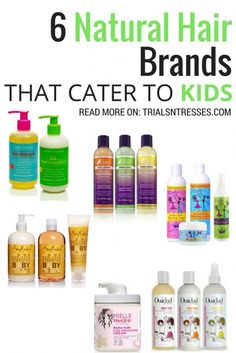 15 Hair Care Brands For Curly Natural Kids And Babies Kids