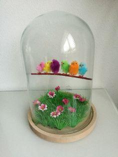 Stolp decoratie : voorjaar / Pasen