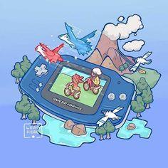 Tagged with art, pokemon, pokemon fan art, timeline, pokemon go; Evolution of Pokemon playing Pokemon Go, Pokemon Fan Art, Pikachu, Latios Pokemon, Pokemon Games, Gameboy Pokemon, Nintendo Ds, Bulbasaur, Pokemon Stuff