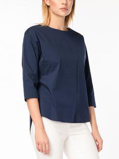 Блуза цвет темно-синий, , артикул 3143960ci1664