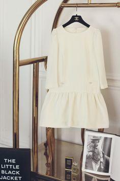cute dropwaist dress