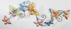Butterfly Trail Decorative 3D Wall Decor