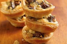 Gorgonzola-Fig and Walnuts Tartlets 7 Recipes (That Aren't Pie) Using Refrigerated Pie Crust