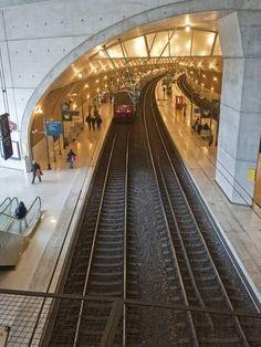 Greg Dale, The Train Station in Monaco