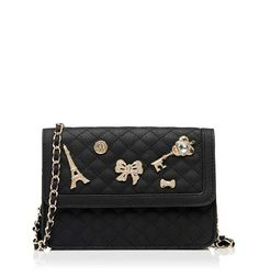 BA1957-Charlie Small Bag/Black