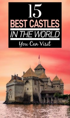 Who doesn't love a good medieval castle? Here are the best castles in the world that you can visit! From Scottish castles to French castles to German ones, they're all here! French Castles, English Castles, Scottish Castles, Solo Travel Tips, Travel Things, Travel Gifts, Travel Advice, Prague Travel, Neuschwanstein Castle