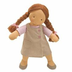 Amazon.com: North American Bear Company Willow Doll Peach: Toys & Games