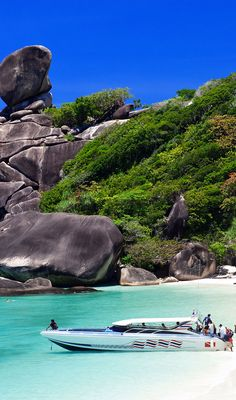 Similan islands, Thailand, Phuket | 10 Idyllic Surreal Places that Make Thailand One of the Most Beautiful Country in The World