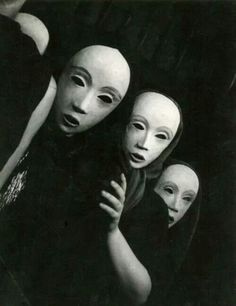 Yvonne Chevalier, Masques, c.1935
