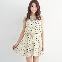 Buy 'BAIMOMO – Sleeveless Drawstring-Waist Printed Dress' with Free International Shipping at YesStyle.com. Browse and shop for thousands of Asian fashion items from Taiwan and more!